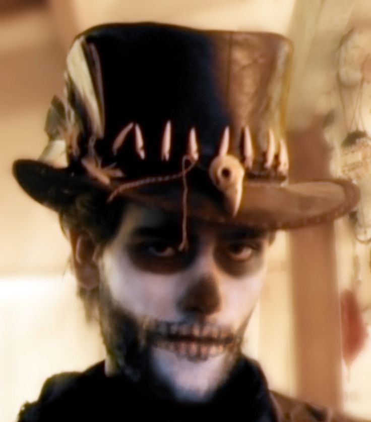 'Voodoo man' top hat 02 by ~Tobias-lockhart on deviantART