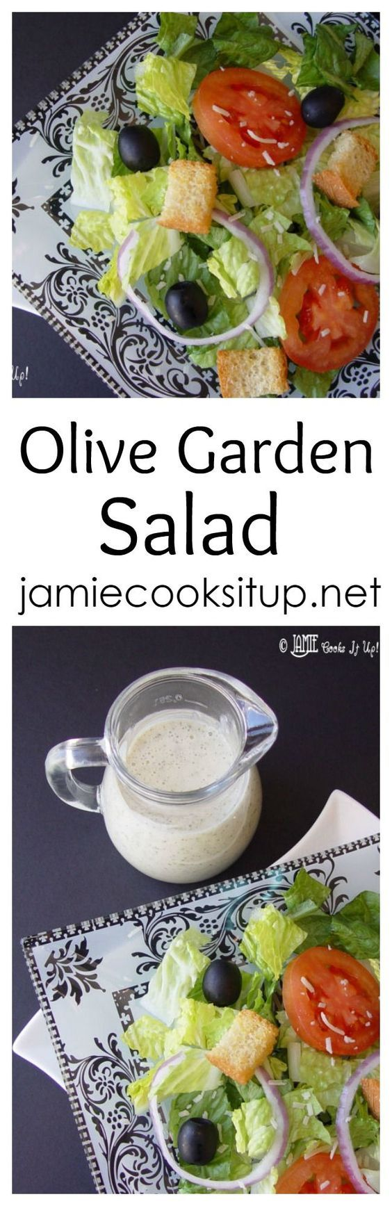 This Olive Garden Salad Is One Of The Most Popular Salads On My Site Always A Crowd Pleaser