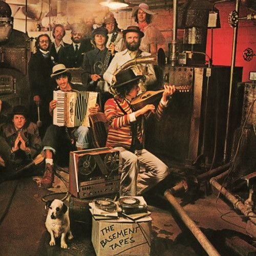 USED VINYL RECORD double 12 inch 33 rpm vinyl LP Released in 1975, Columbia Records (33682) - The Basement Tapes is a studio album by American singer-songwriter Bob Dylan and the Band, released on Jun