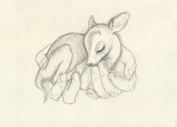 Deer tattoo idea