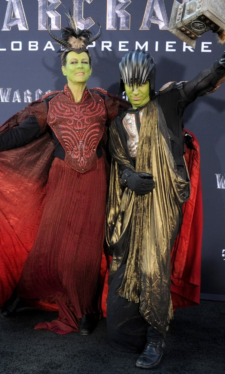 Jamie Lee Curtis Deserves a Mom of the Year Award For Cosplaying at the Warcraft Premiere With Her Son