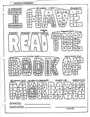 Book of Mormon Reading Chart  http://creatingachristcenteredmormonhome.blogspot.com