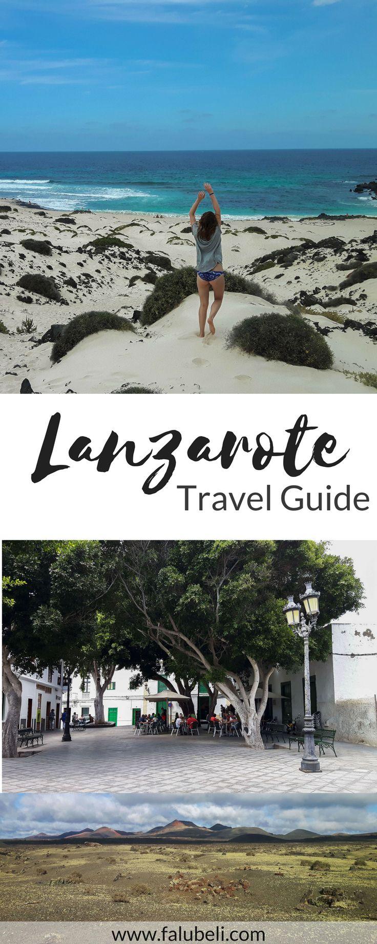 Ein Travel Guide für die schönste Kanarische Insel Lanzarote. Entdecke endlose Strände, wundervolle Küstenstädte und Wanderungen durch Mondlandschaften. Jetzt auf WWW.FALUBELI.COM