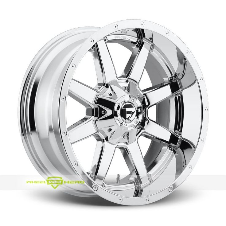 Fuel Maverick D566 Chrome PVD Wheels For Sale & Fuel Maverick D566 Rims And Tires