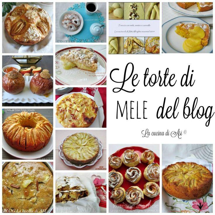 RICETTE DOLCI CON LE MELE Raccolta ricette
