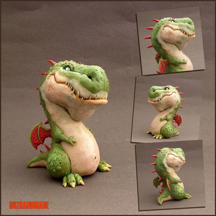 Dragon Sculpture - Buzhandmade by buzhandmade
