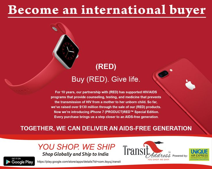 i  phone launches the (RED) iPhone 7 and iPhone 7 Plus in order to support the Anti Aids campaign in Africa. The series is  available in 128GB and 256GB models starting at $749 (approx. Rs 49,000)  and $ 869 (approx. Rs 57,000) in US from Apple's website and iPhone SE in 32GB and 128GB models; starting from 399$ in US. However the Indian price of iPhone 7 and iPhone 7 Plus (PRODUCT) RED Special Edition will be starting from Rs 82,000. #Grab it directly from USA  at actual US prices to save…