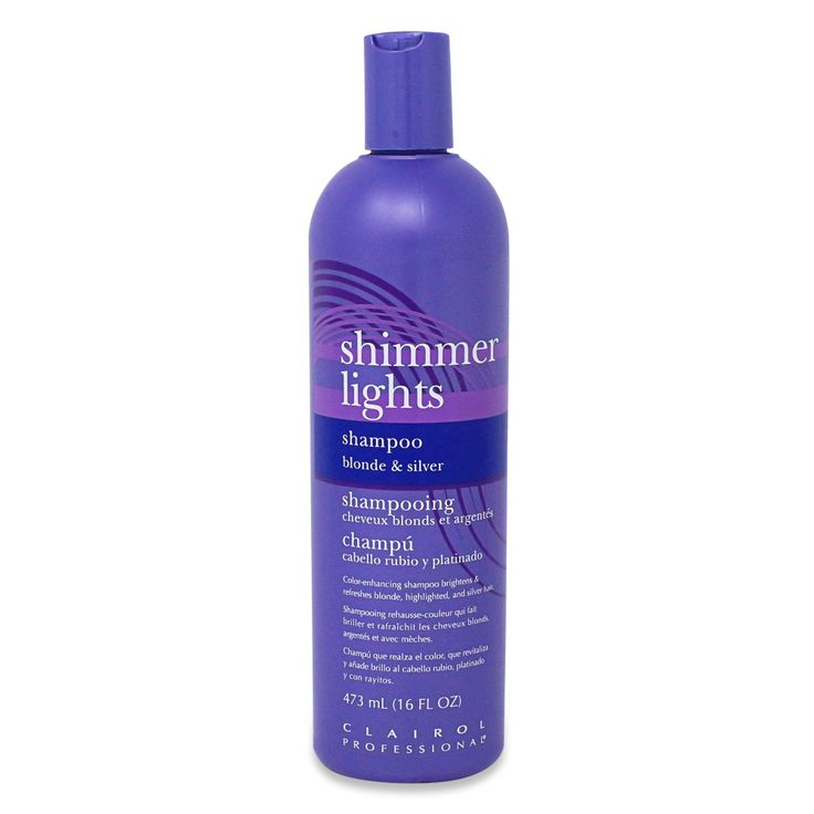 Clairol professional shimmer lights blonde and silver