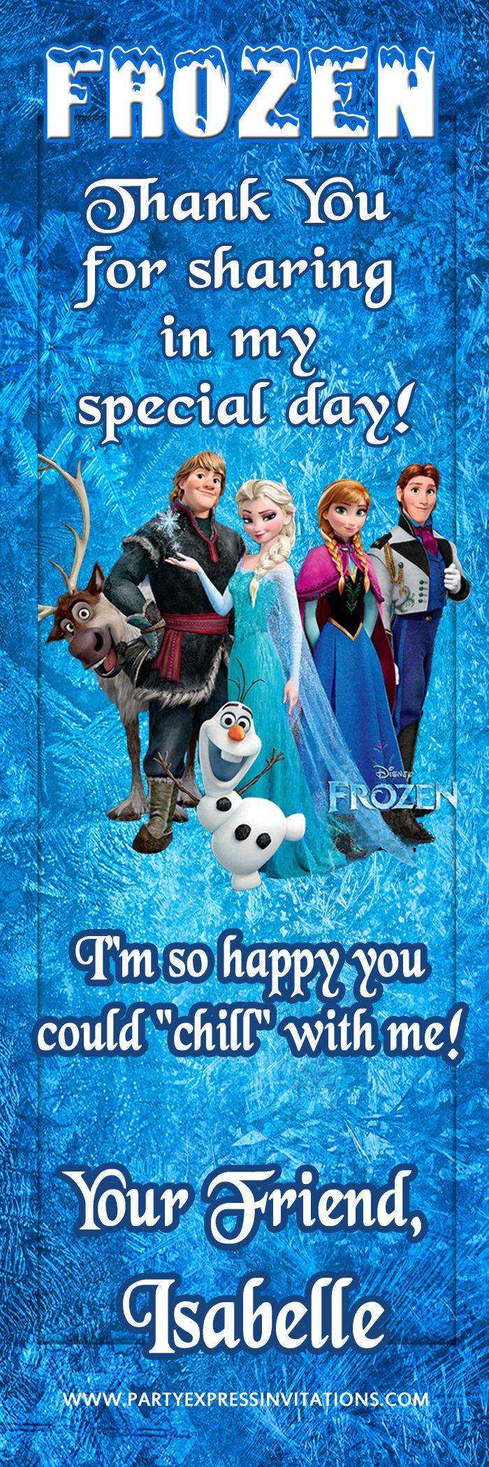73 best Disney Frozen Movie Birthday Invitations images on Pinterest ...