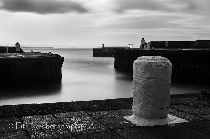 """Burghead Harbour"" by Fitlike Photography #Burghead #Moray #Scotland #B&W #Landscapes #FitlikePhotography #www.fitlikephotography.co.uk #Longexposure"