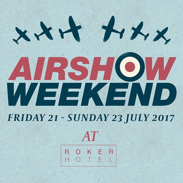 """Airshow Weekend✈🙌 Join us from 5pm on Friday 21st July for a weekend of outdoor drinks, food, entertainment and great vantage points for viewing! Plus Sun FM will be broadcasting live on the Saturday & Sunday. With packages from £19.95 per person, it's a weekend not to be missed😁 #airshow #airshowweekend #roker #sunderland #events #airplane"" by @rokerhotel. #이벤트 #show #parties #entertainment #catering #travelling #traveler #tourism #travelingram #igtravel #europe #traveller #travelblog…"