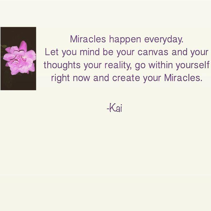 Miracles happen everyday