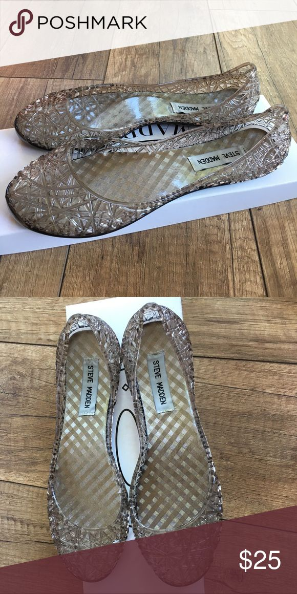 ea0cfd72039 Steve Madden P-Swirly jelly ballet flats These flats have a cute shape and  profile. Extremely gently used