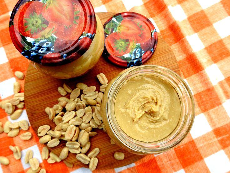 Domowe masło orzechowe - Kuchnia ketogeniczna