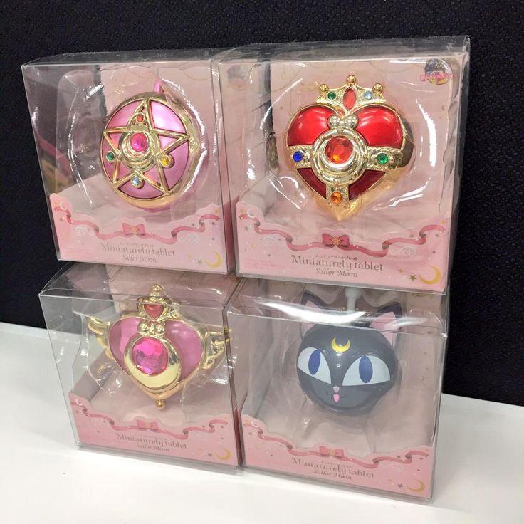 Sailor Moon Miniature Tablets Packaging