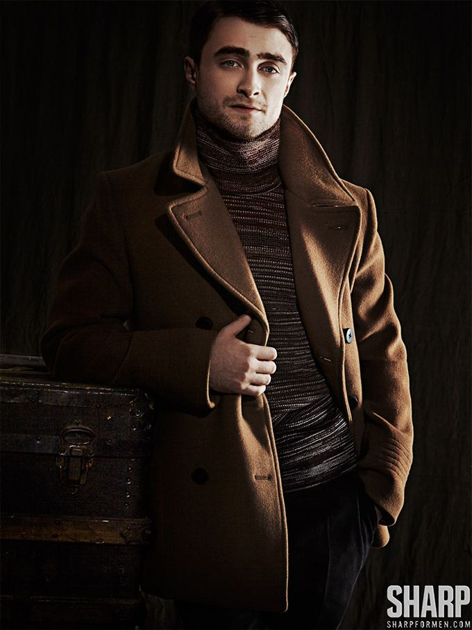 Model: Daniel Radcliffe   Photographer: Matthew Lyn   Magazine: SHARP