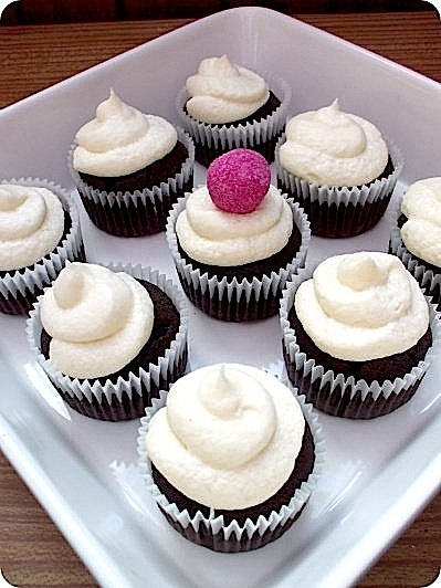 Best Moist Chocolate Cupcakes & Naked Buttercream   The Sugar Bar