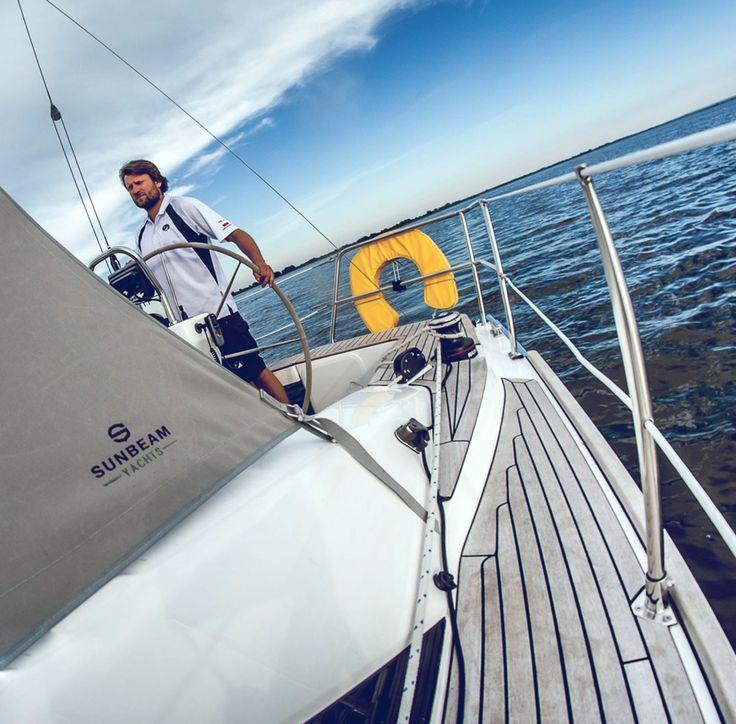 MARINA Yachting - Skupienie i powaga jest nieodłącznym elementem bezpieczeństwa.