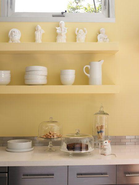 1000 Ideas About Yellow Kitchen Paint On Pinterest