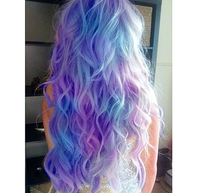Cotton Candy Blue Hair: Best 25+ Cotton Candy Hair Ideas On Pinterest