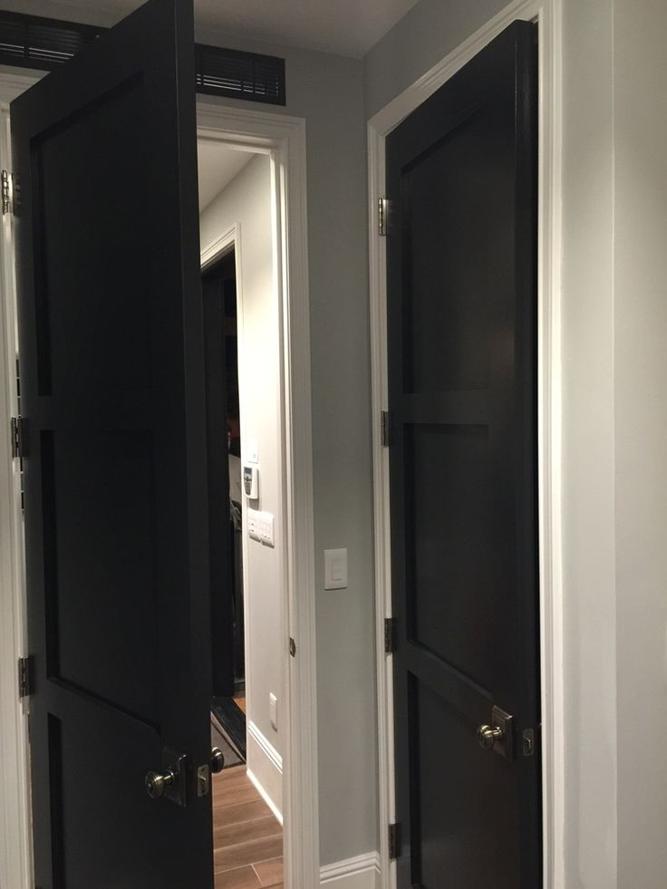 MUST SEE: Pardee Homesu0027 Responsive Home Project For Millennial Homebuyers!  Black Interior DoorsBlack ...