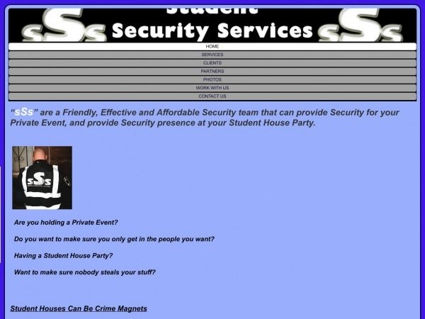 Student Security Services Leeds