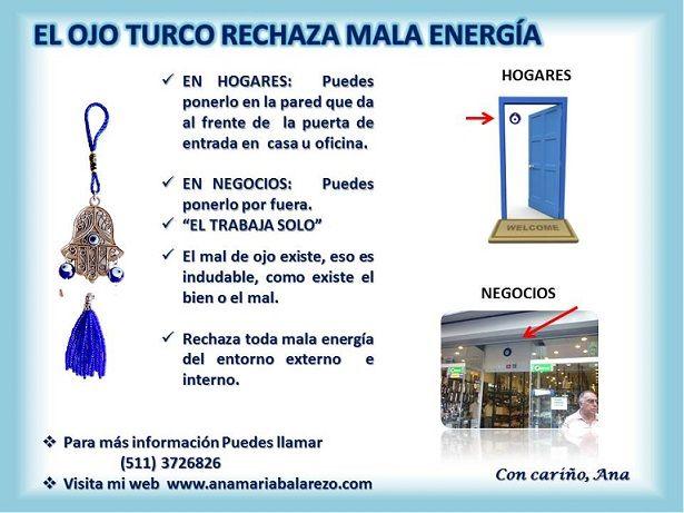 Puedes poner un ojo turco cerca de la entrada de tu casa o en los negocios para protegerte de la - Poner linea telefonica en casa ...