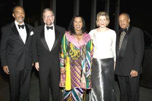 Stuart Lewis, David Rockefeller Jr., Sherry B. Bronfman, Agnes Gund, Fred Brown