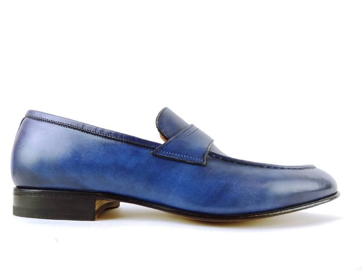 Santoni Coureur Gloria Baskets Basses - Bleu n9y8X