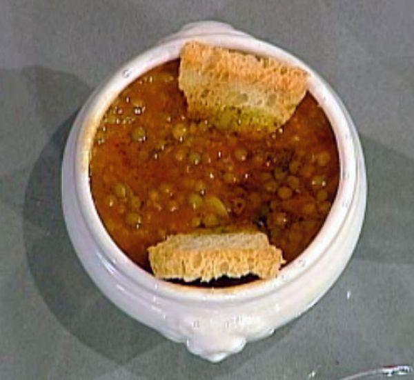 Ricetta Zuppa di lenticchie - Anna Moroni