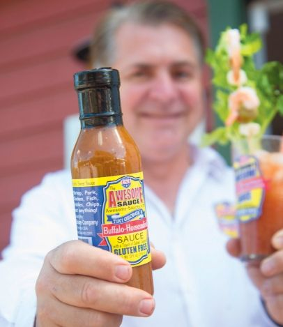 "You can never have enough Awesome Sauce. After all, it's pretty darn awesome. The aptly named Awesome Sauce is the creation of George Pandis, a bartender at the Lido Beach Resort Tiki Bar in Sarasota. Bloody Marys are popular there, and Pandis wanted to give his a special kick and make the drink consistently great for customers. ""The number one thing in hospitality is consistency,"" he says. He mixed in everything that he thought would make a Bloody Mary top-notch, including horseradish and…"