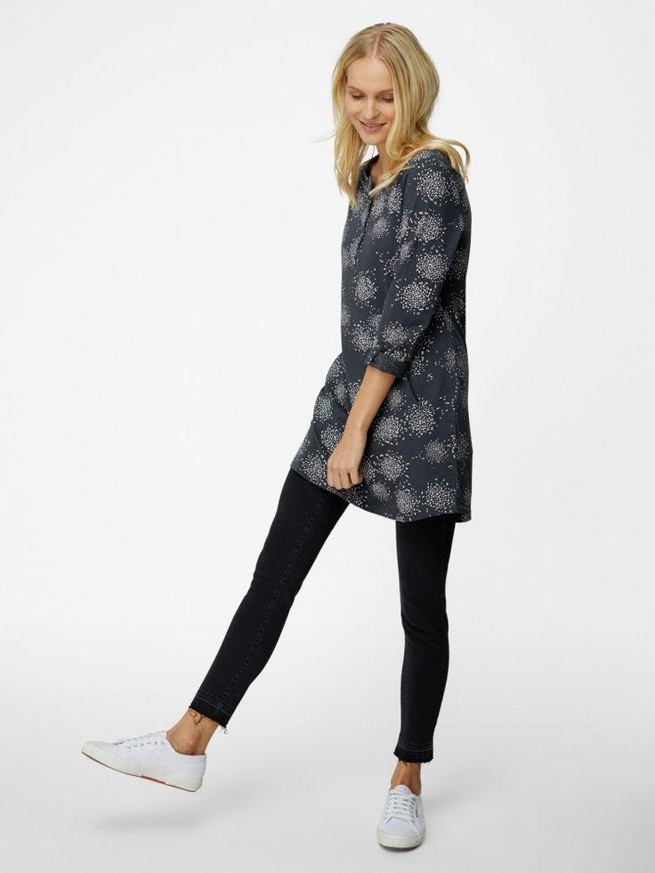 Greta Jersey Shirt Tunic