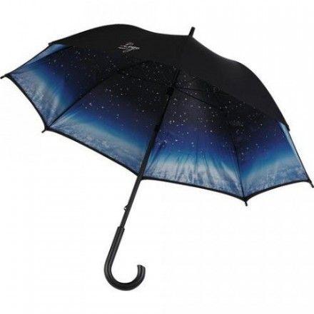 Palicový dáždnik NOČNÁ OBLOHA