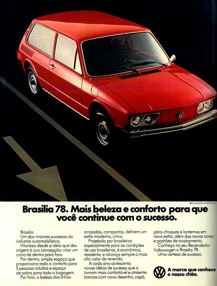1978 VW Brasilia 1600 - Brasil