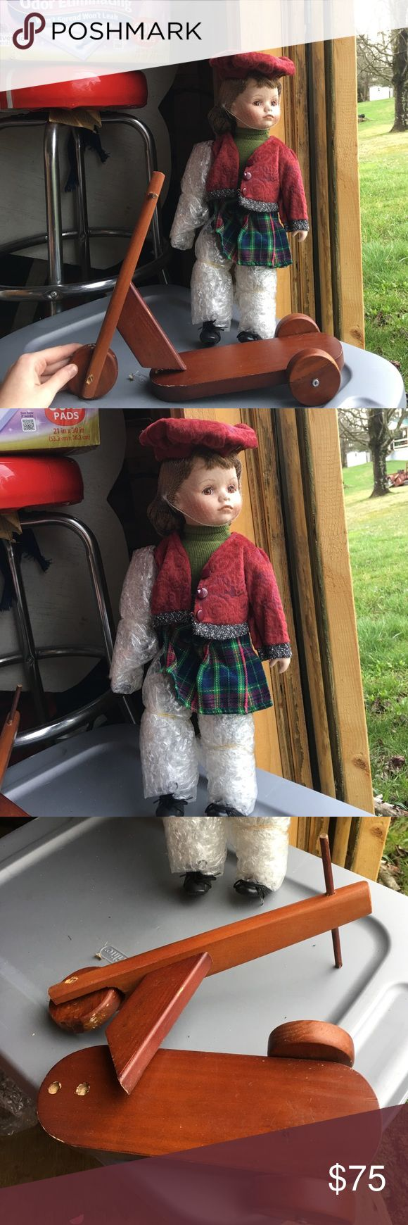 American girl Brand new, may have small stains needs nails for scooter Other