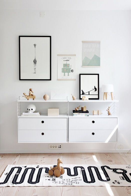 A Modern, Stylish Baby Boy's Nursery- Petit & Small