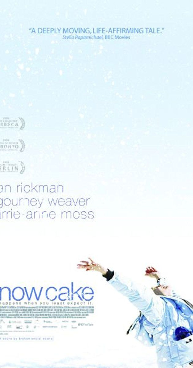 Snow Ckw (2006) Directed by Marc Evans. With Alan Rickman, Sigourney Weaver, Carrie-Anne Moss, Emily Hampshire. A drama focused on the friendship between a high-functioning autistic woman and a man who is traumatized after a fatal car accident.