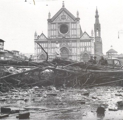Santa Croce – Florence, flood 1966