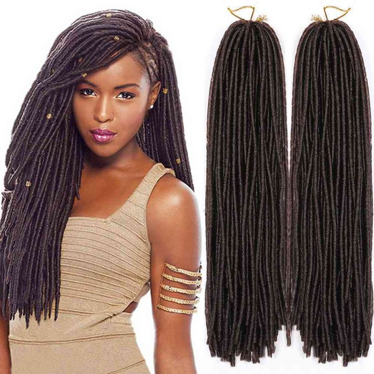 5*30 Strands Kanekalon Synthetic Braids Faux Locks Crochet Hair Extensions 15'' #Dsoar #BraidHairExtension