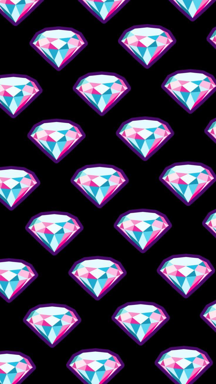Fondo de diamantes