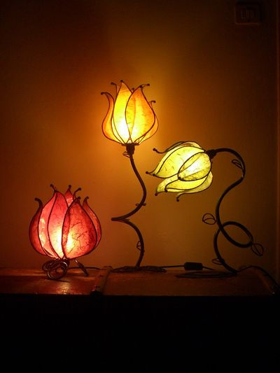 Nouvelle so in love with these lamps
