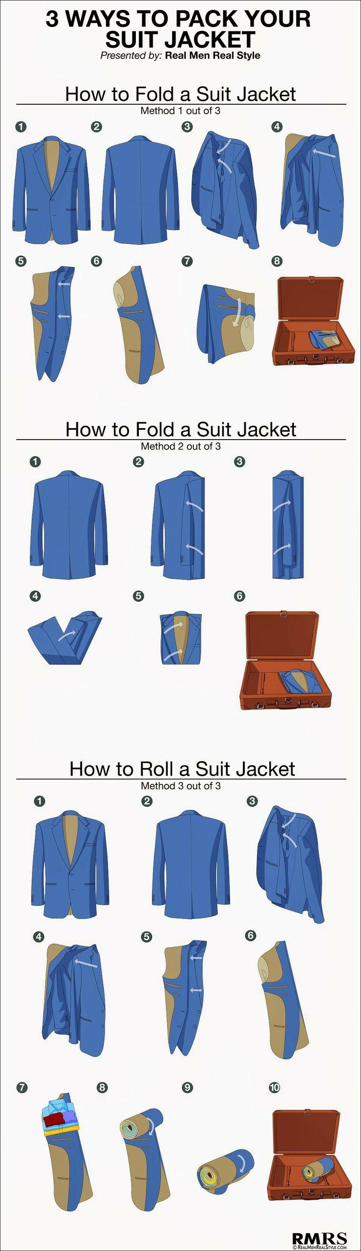 Pack your suit jacket