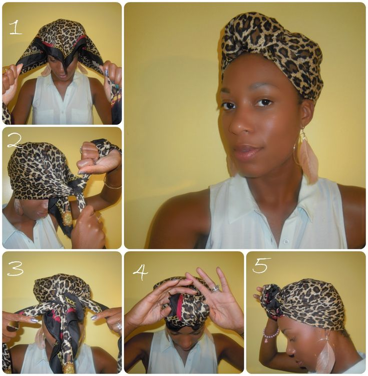 1000 ideas about hair scarf tutorial on the
