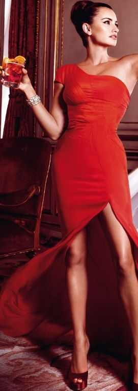 Penelope Cruz for Campari Calendar 2013 -- https://www.etsy.com/shop/Whitesrose Go here for your Dream Wedding Dress and Fashion Gown!