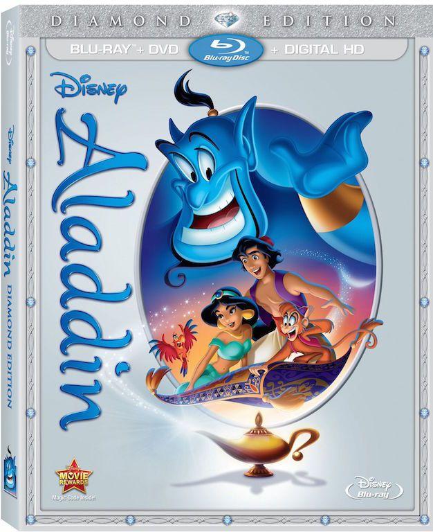 Aladdin Blu-Ray Diamond Edition Release #AladdinBloggers #Disneyland60 #TomorrowlandBloggers