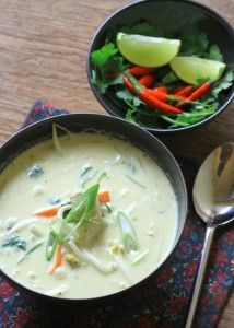 Thai Coconut and Chicken Soup #thermomix #soup