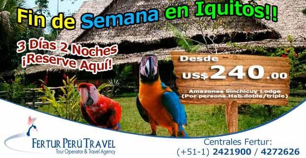 Viaje de fin de semana a Iquitos con Amazonas Sinchicuy Lodge en Viajero Peruano - Blog de Turismo