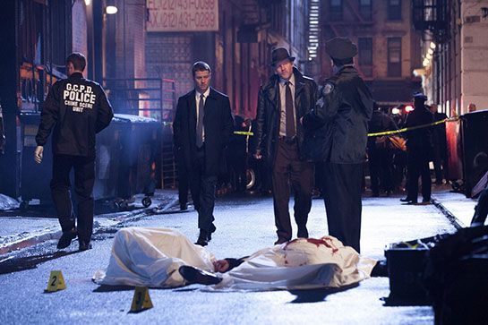 Gotham  http://www.refinery29.com/2014/09/73589/fall-tv-shows-2014#slide4  Gotham Airs: 8 p.m. Mondays on FOXPremieres: September 22  When the Batman movies begin, Commissioner Gordon is the head of the Gotham P.D., and The Riddler, The Joker, Poison Ivy, et al are already supervillains. Gotham takes viewers back to the time when Gordon was just a rookie detective tasked with finding the killers of young Bruce Wayne's parents, and the city was ...