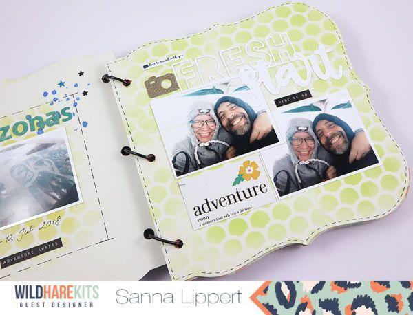 Rio Negro Minibook with Sanna | Mini Book Inspiration | Mini