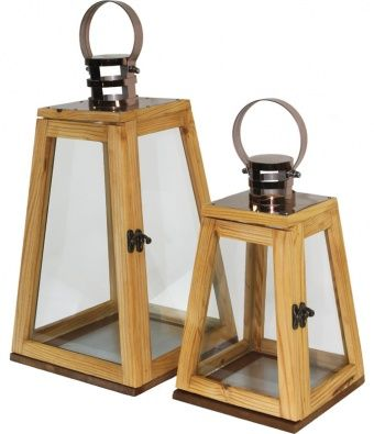 Dřevěná lucerna
